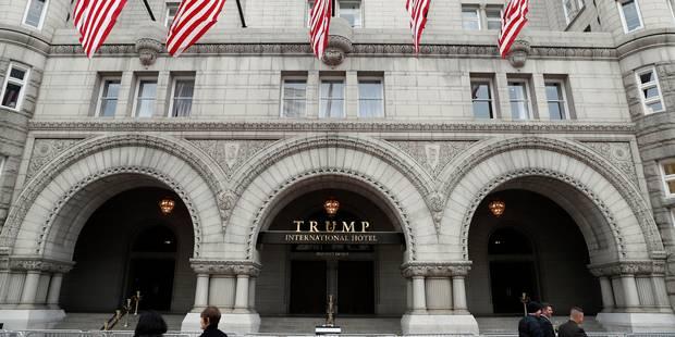 USA: arrestation d'un homme lourdement armé à l'hôtel Trump de Washington - La Libre