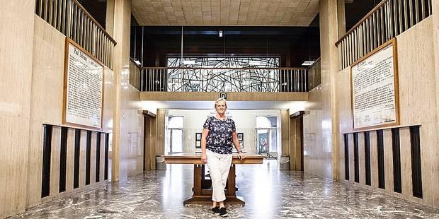 Liège : l' aquarium de Liège inaugure bientôt la nouvelle salle TreZOOr . Sonia Wanson , biologiste et directrice adjointe de l'Aquarium-Muséum ULg