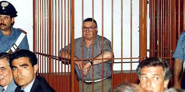 """Le parrain Toto Riina """"à le droit de mourir dignement"""" - La Libre"""