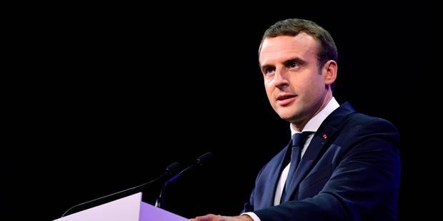La vague Macron pourrait s'amplifier au second tour - La Libre