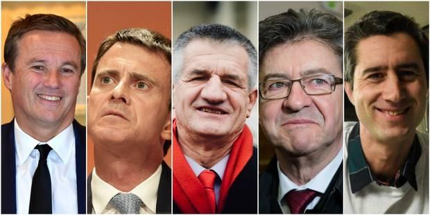 Législatives: Valls, Mélenchon, Dupont-Aignan, Lassale et Ruffin élus - La Libre