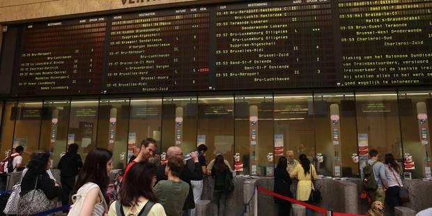 La gare de Bruxelles-Central à nouveau desservie par les trains - La Libre