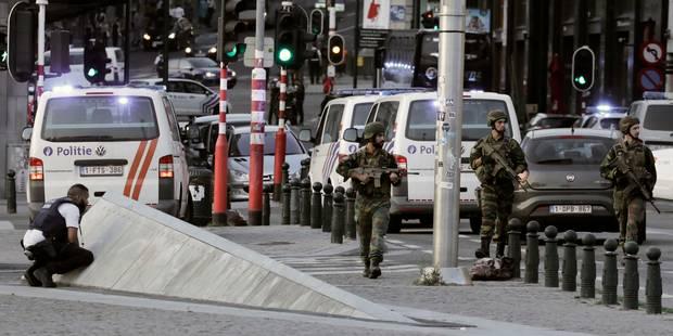 Gare Centrale : les quatre personnes arrêtées mercredi ont été relâchées - La Libre
