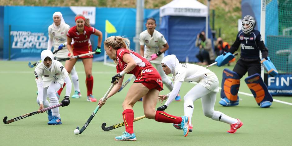 "Hockey féminin : ""Hillewaert et Vandermeiren au top"" (ANALYSE)"