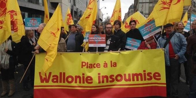 """La """"Wallonie insoumise"""", le nouveau mouvement politique"""