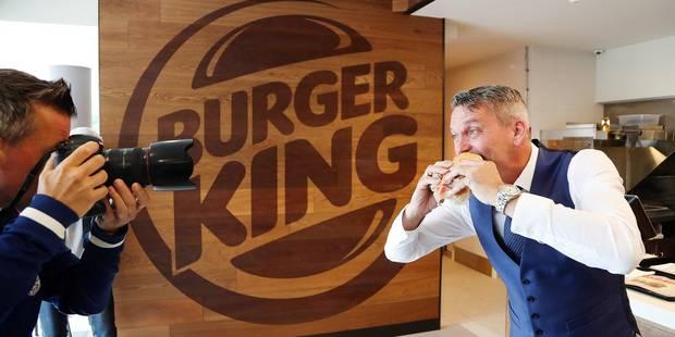 """""""60 à 70 Burger King en Belgique dans 5 ans"""" (PHOTOS + VIDEO) - La Libre"""
