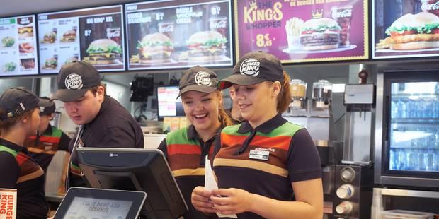 Le 1er Burger King de Wallonie inauguré à Charleroi: 8 bornes de commande, 263 places et 55 collaborateurs - La Libre