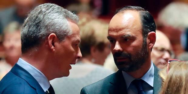 """Brexit: la France déroule son tapis """"bleu blanc rouge"""" au secteur financier - La Libre"""