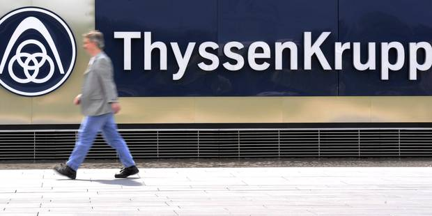 Thyssenkrupp va tailler dans ses emplois administratifs - La Libre