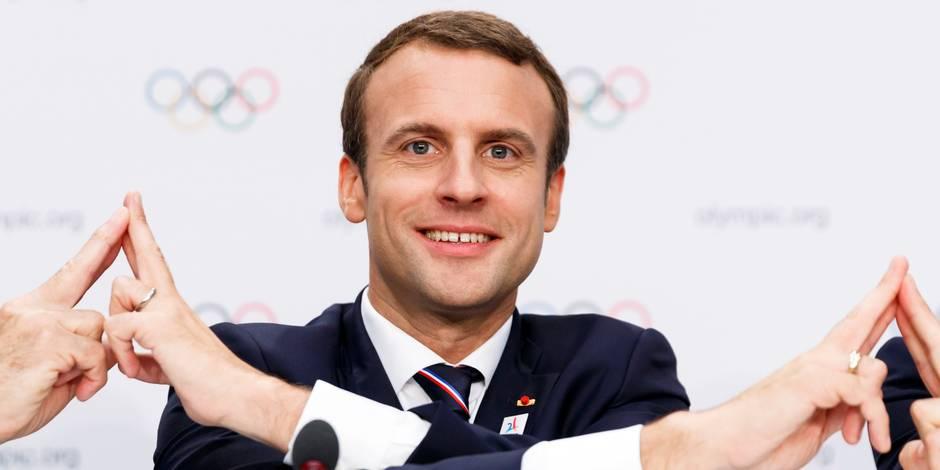 Première alerte dans l'opinion pour le président Macron