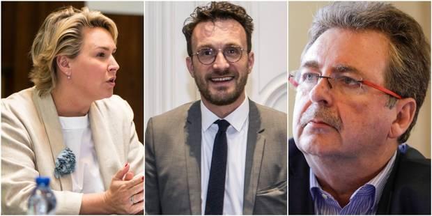 Vervoort, Smet, Fremault... Ecolo et Groen égratignent le gouvernement bruxellois et ses ministres - La Libre
