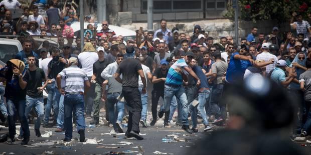 Jérusalem à l'aube d'une nouvelle intifada? (VIDEO) - La Libre