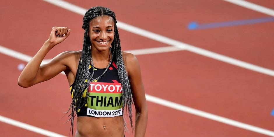 Nafi Thiam est sacrée championne du monde de l'heptathlon !