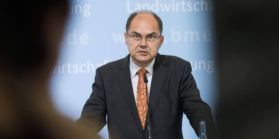 Christian Schmidt, le ministre allemand qui tance la Belgique