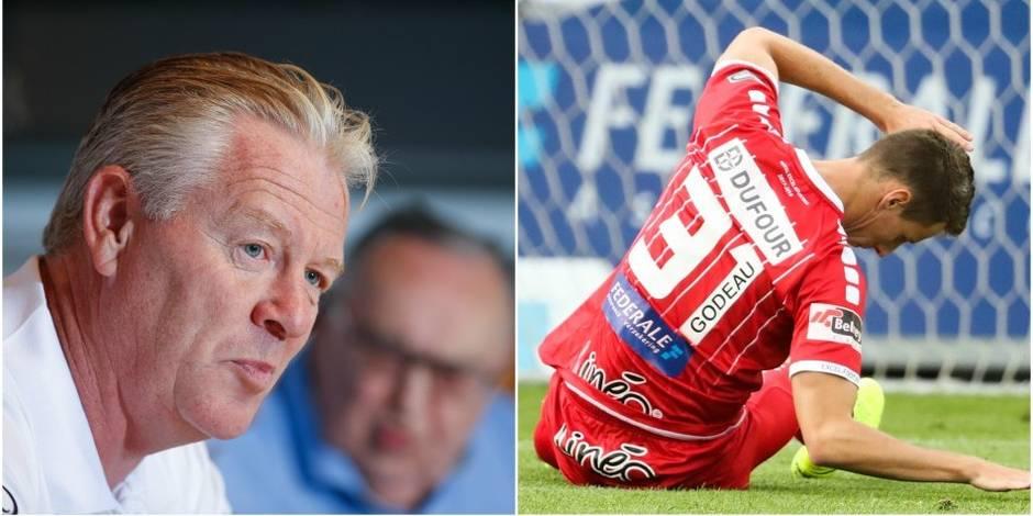 Mouscron se rattrape à Lokeren (0-2), Eupen est battu par Courtrai (1-2)