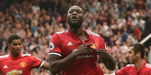 Romelu Lukaku claque un doublé pour ses débuts avec Manchester United en championnat (VIDEOS) - La Libre