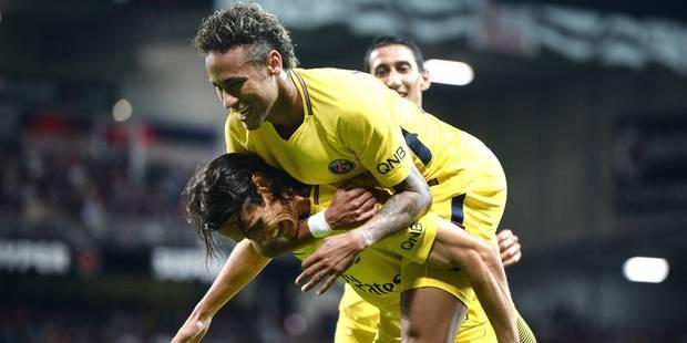 Neymar marque son premier but pour le PSG (VIDEO) - La Libre