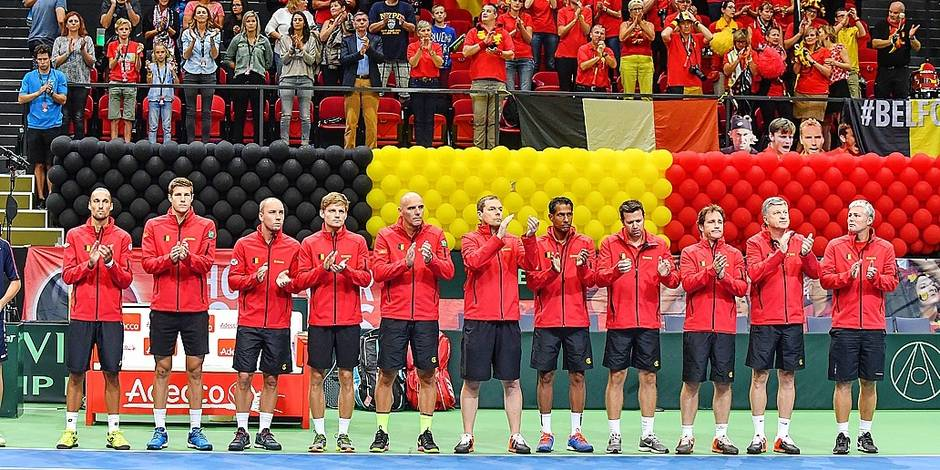 """Le capitaine de Coupe Davis à un mois de la demi-finale: """"Nous pouvons gagner"""" - La Libre"""