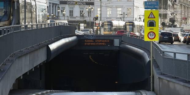 Le tunnel Stéphanie rouvert à la circulation dans les deux sens - La Libre