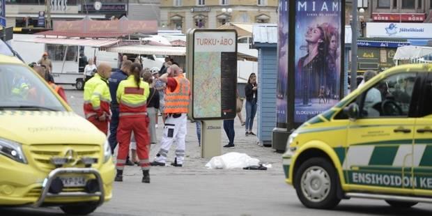 Attaque au couteau en Finlande: deux morts et six blessés (PHOTOS) - La Libre