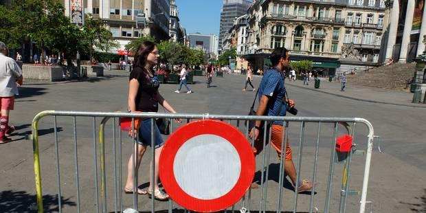 Retrait de permis pour le chauffard qui a semé la panique sur le piétonnier à Bruxelles - La Libre