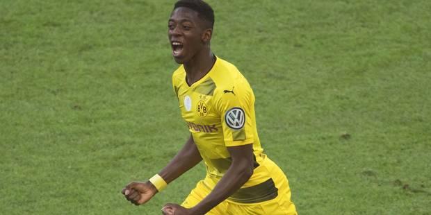 Ousmane Dembélé débarque à Barcelone pour 105 millions (Officiel) - La Libre
