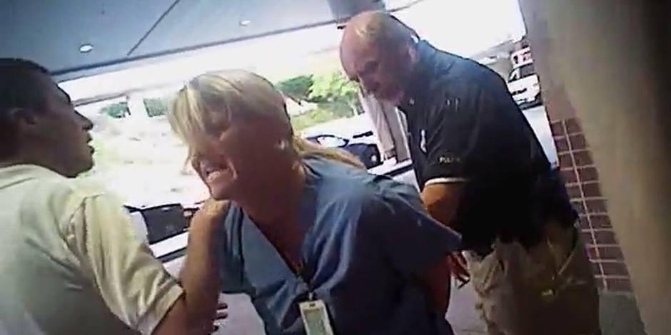 La police d'Utah fait scandale avec l'interpellation musclée d'une infirmière
