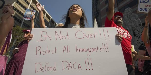 """Immigration: les """"Dreamers"""" promettent de se battre contre la décision de Trump - La Libre"""