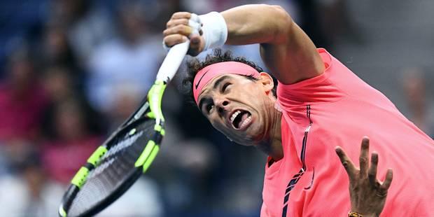 US Open: Rafael Nadal bat facilement le tombeur de Goffin et attend Federer ou Del Potro - La Libre