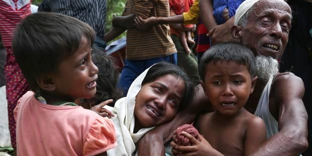 Balles, machettes, mines... Des milliers de rohingyas grièvement blessés soignés au Bangladesh - La Libre