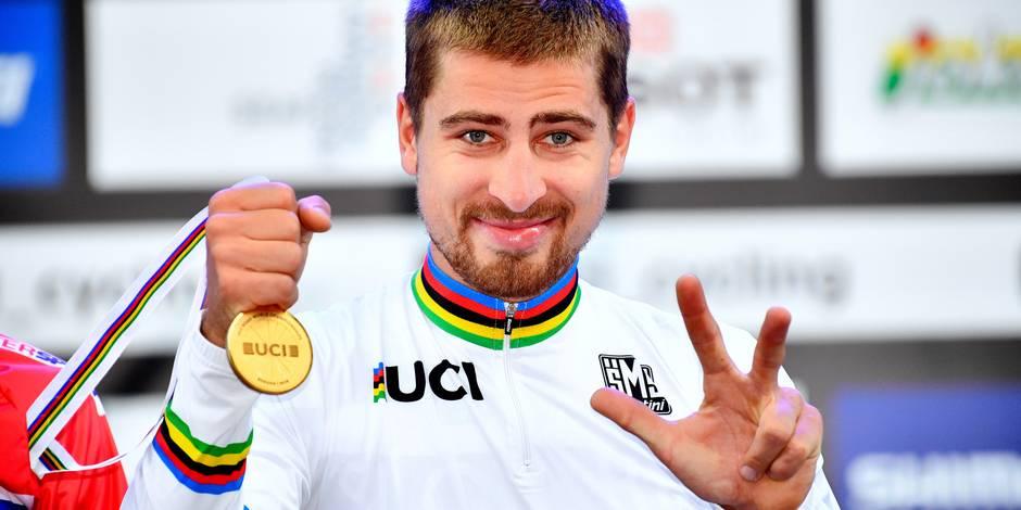 Le Slovaque Peter Sagan sacré champion du monde pour la troisième année d'affilée