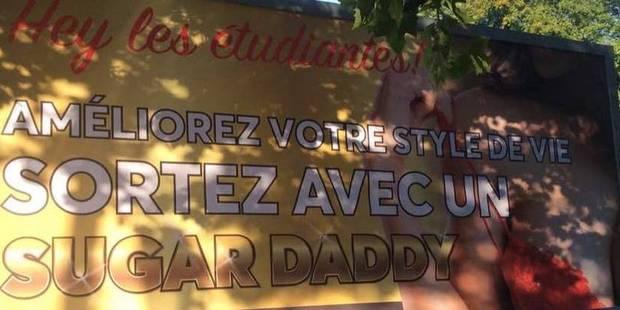 """La Ville de Bruxelles et Watermael-Boitsfort interdisent la campagne de """"sugardating"""" - La Libre"""