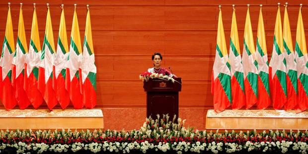 Une déception nommée Aung San Suu Kyi (OPINION) - La Libre