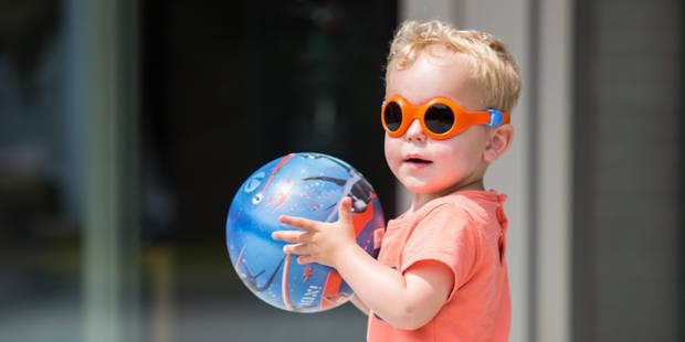 472cf05448 Pyke (ré)invente les lunettes de soleil pour bébé - La Libre