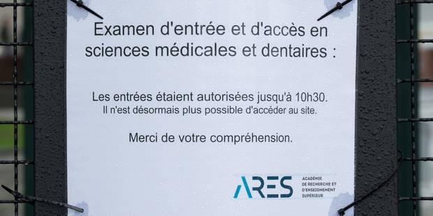 A peine un quart des étudiants en 1ère bachelier ont réussi l'examen d'entrée en médecine - La Libre