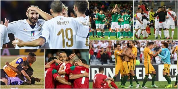 Mondial 2018: vingt équipes pour neuf places restantes - La Libre