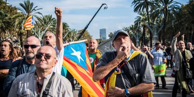 Référendum en Catalogne : Gouvernement et opposition espagnols étudieront une réforme de la Constitution - La Libre