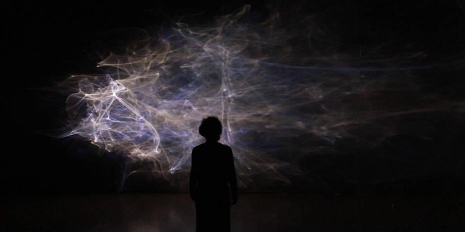 Eaux et lumières pour de nouvelles visions aux Halles de Schaerbeek