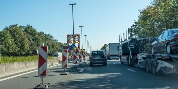 Un accident impliquant trois camions provoque de gros embarras sur la E19 vers Mons - La Libre