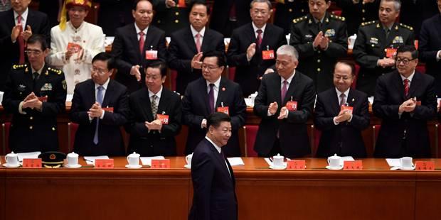 """Xi Jinping appelle à combattre ce qui pourrait """"saper"""" le pouvoir du Parti communiste chinois - La Libre"""