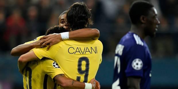 C1: pas de miracle pour Anderlecht, courageux mais battu par un Paris réaliste (0-4) - La Libre