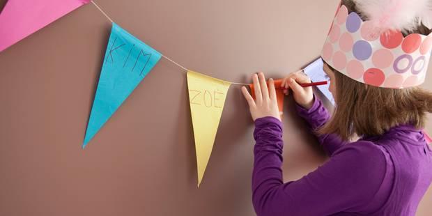Pour 57 % d'entre vous, pas question d'interdire les invitations d'anniversaire à l'école - La Libre