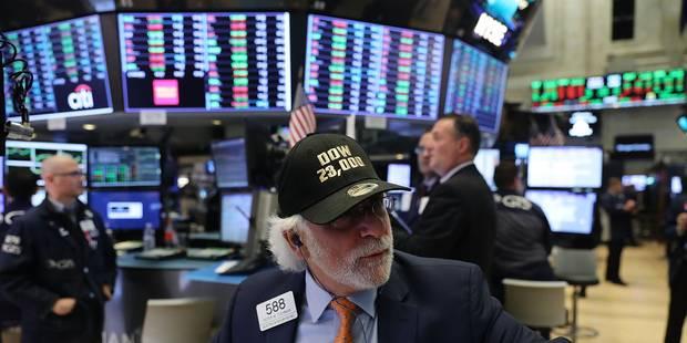 Revue boursière: les investisseurs n'ont pas de mémoire pour les krachs - La Libre