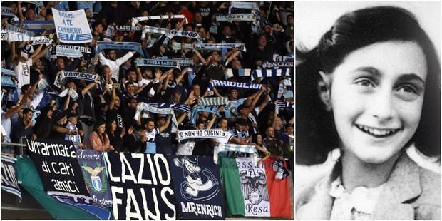 Polémique en Italie: des supporters de la Lazio détournent une photo d'Anne Frank, le président du club passe à l'action...