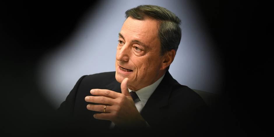 Edito: le remède Draghi donne des résultats - La Libre