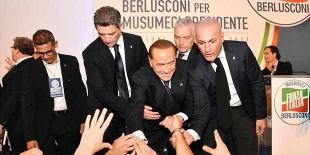 Berlusconi rêve que la Sicile lui serve de tremplin vers Rome - La Libre