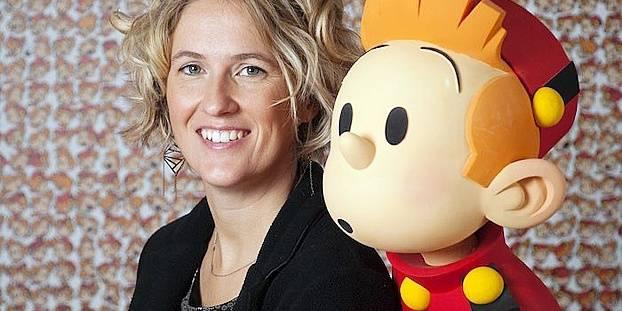 """Florence Mixhel, nouvelle rédactrice en chef du journal """"Spirou"""""""