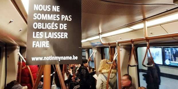 """Opération citoyenne choc contre la politique migratoire : qui se cache derrière """"Not in my name""""? - La Libre"""