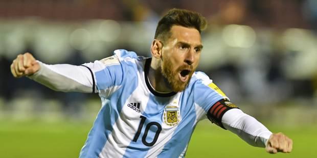 Messi dévoile ses favoris pour la Coupe du Monde ... et ne cite pas la Belgique - La Libre