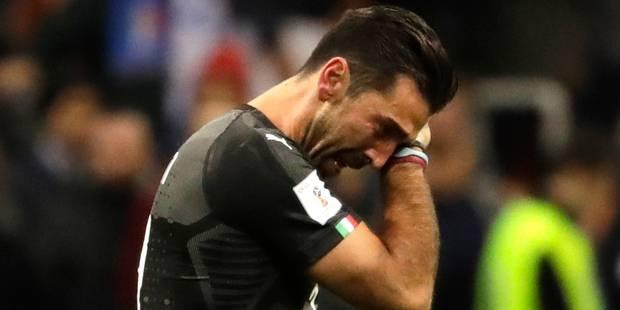 L'Italie sous le choc: le pays n'ira pas à la Coupe du Monde, Buffon met un terme à sa carrière internationale - La Libr...